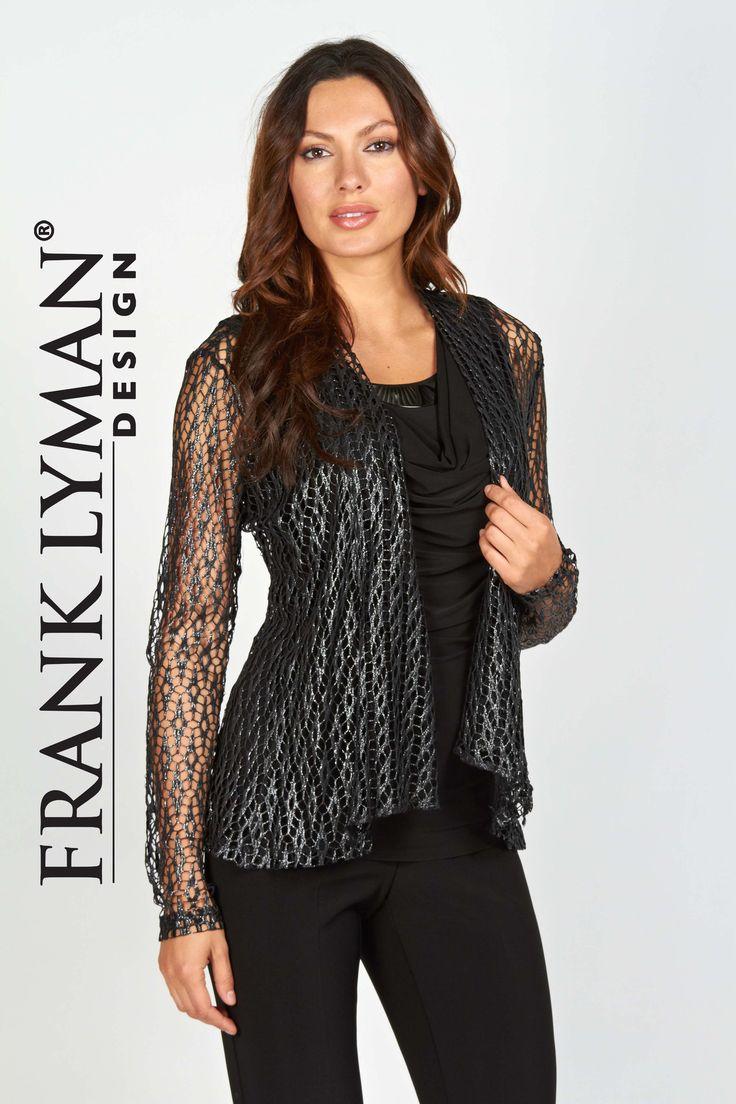 Frank Lyman Open Weave Jacket