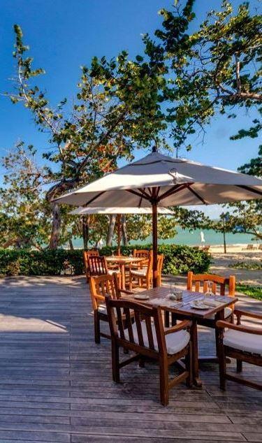 La Veranda - beach dining in Playa Dorada, Dominican Republic