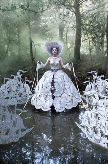 A Stroll through Wonderland by Kirsty Mitchell Photography