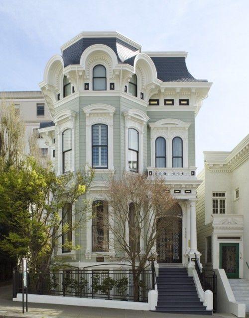 Victorian home san francisco ca pretty pinterest for San francisco victorian houses history