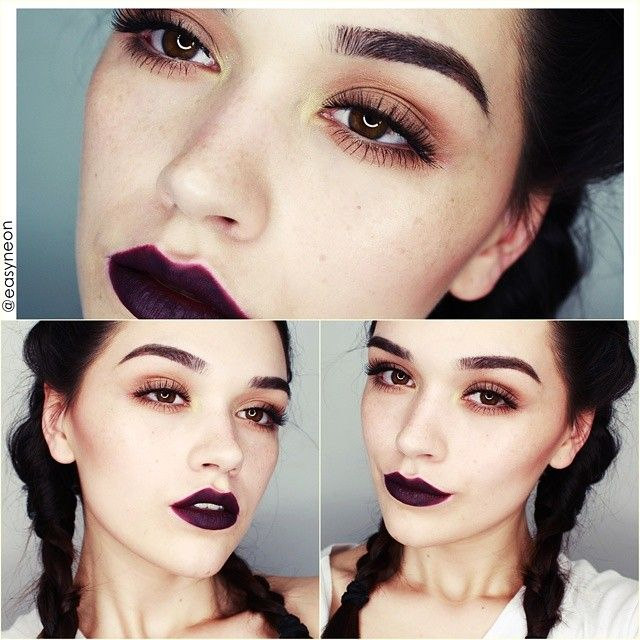 I ♥ dark lips. For products ~> tutorial will be up tomorrow.