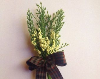 Stunning  Scottish Thistle Buttonhole for the Groom ,Best Man ,,Usher, Guest Wedding.