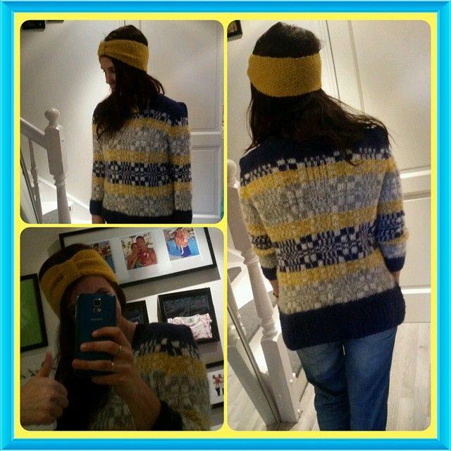 #skappelgenser #skappel  #oker #grey #blue #knitting #knit #instaknit #homemadebyme #perlestrikk #stikkedilla #strikking #diy