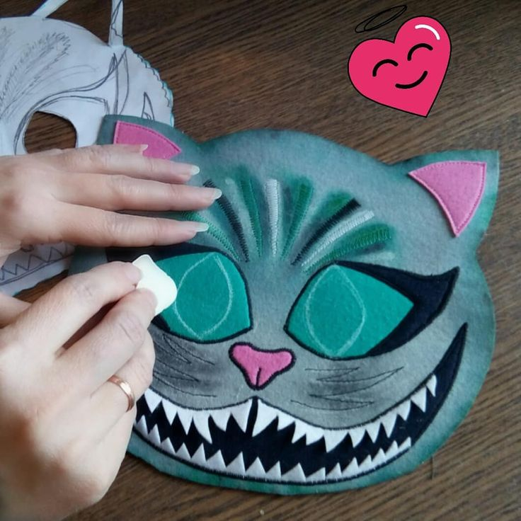 Немного творческого процесса в ленту... «Видала я котов ...