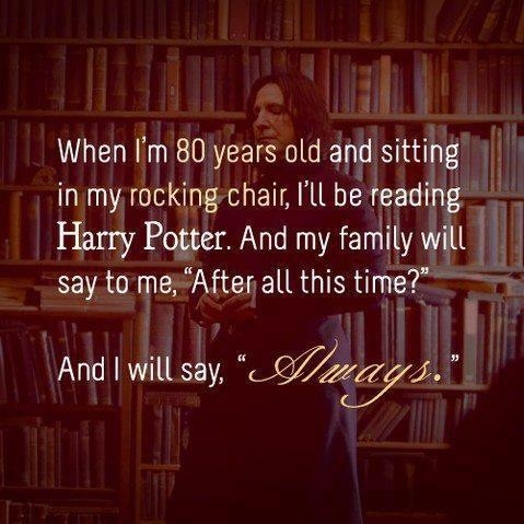 'After all this time?' 'Always'