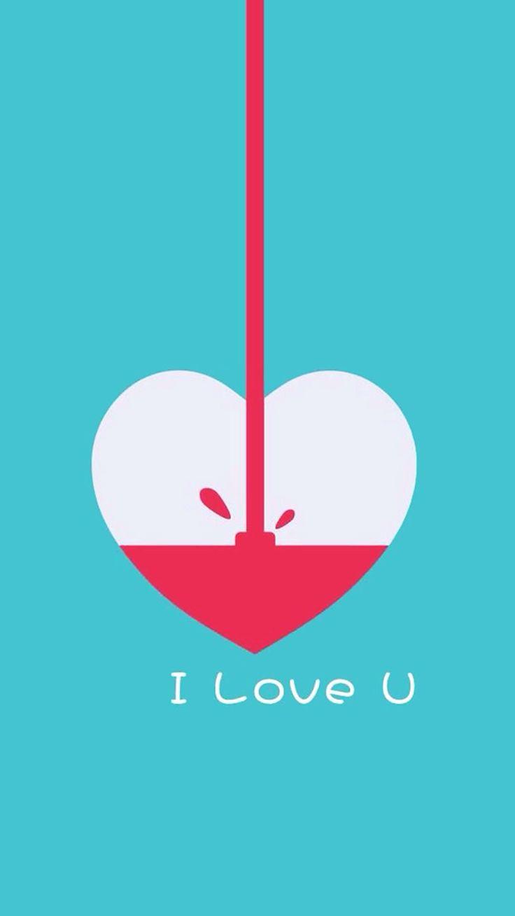 I love you #Fondos #Pareja #Iphone