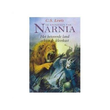 De kronieken van Narnia / Het betoverde land achter de kleerkast - C.S. Lewis  Peter Susan Edmund en Lucy gaan uit logeren in het geheimzinnige grote huis van een oude professor. Als ze op de eerste dag samen het huis gaan verkennen zien ze een grote oude kleerkast in een lege kamer.  EUR 15.99  Meer informatie