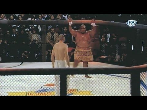 Brutal beginnings of the UFC - YouTube