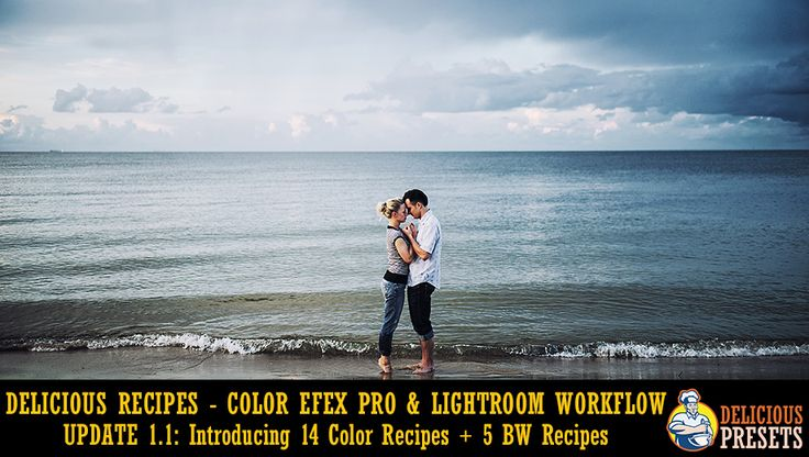 Delicious Recipes Update 1.1 - Lightroom and Color Efex Pro workflow for professional photographers