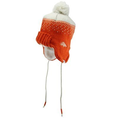 '47 Brand Denver Broncos Womens Magic Mountain Knit Hat - Orange