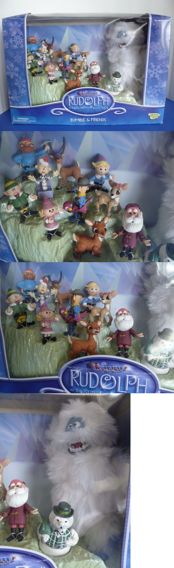 Rudolph 95252: Rudolph Island Of Misfit Toys Bumble And Friends Figure Set 2002. New In Box -> BUY IT NOW ONLY: $89.99 on eBay!