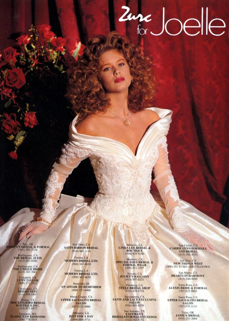Rachel Hunter For Joelle Wedding Gowns