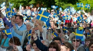 June 6th: Happy National Day of Sweden 2013! A good day to eat raw fish and assemble Ikea furniture, or not.