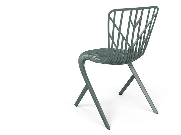 Knoll Washington Skeleton Aluminum Side Chair