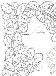 cutwork embroidery motif