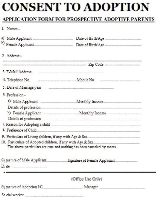 006 Image result for adoption papers Adoption papers