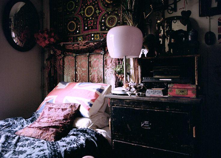 26 best Dark Bohemian Bedroom images on Pinterest ...