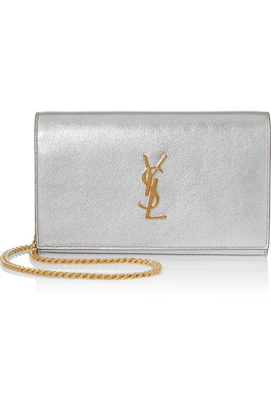 Saint laurent silver bag