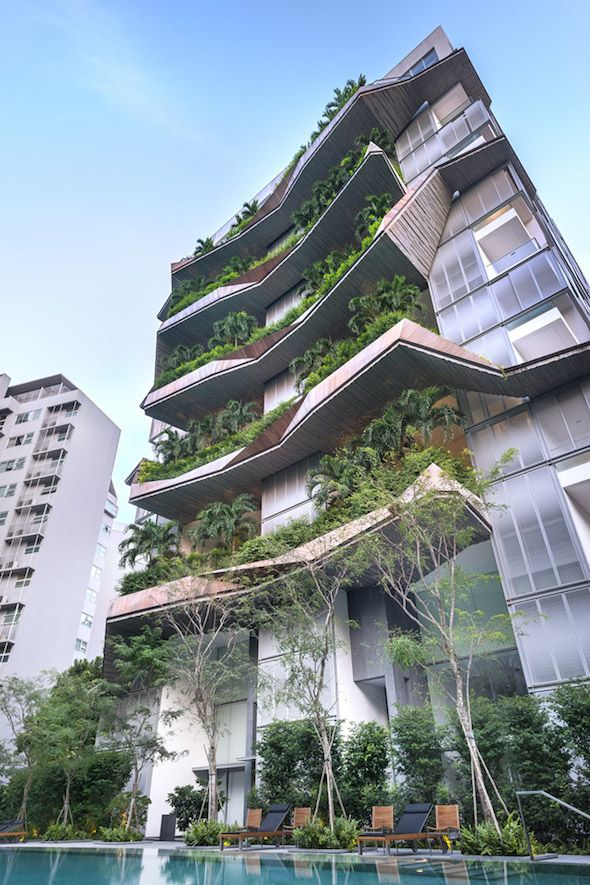 The Oliv, Singapore by W Architects. There are amazing architecture projects around the world. Here you can see every type of project, since buildings, to bridges or even other physical structures. Enjoy and see more at www.homedesignideas.eu