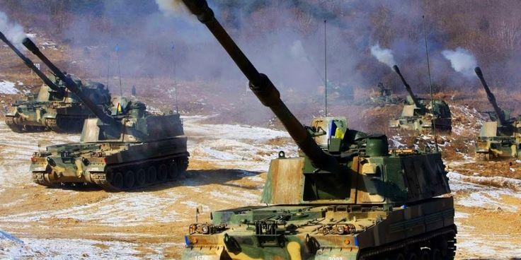 Α/Κ συστήματα πυροβολικού μετακινεί ο νοτιοκορεατικός Στρατός κοντά στην DMZ – Έκρυθμη η κατάσταση