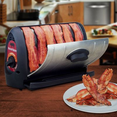 Smart Planet Bacon Nation Bacon Master Electric Griddle with Lid