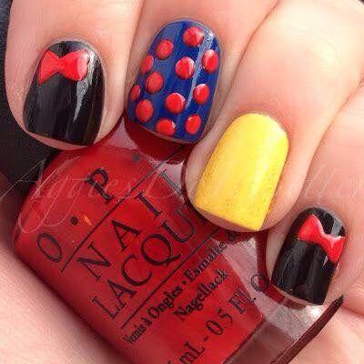 The 25+ best Easy disney nails ideas on Pinterest