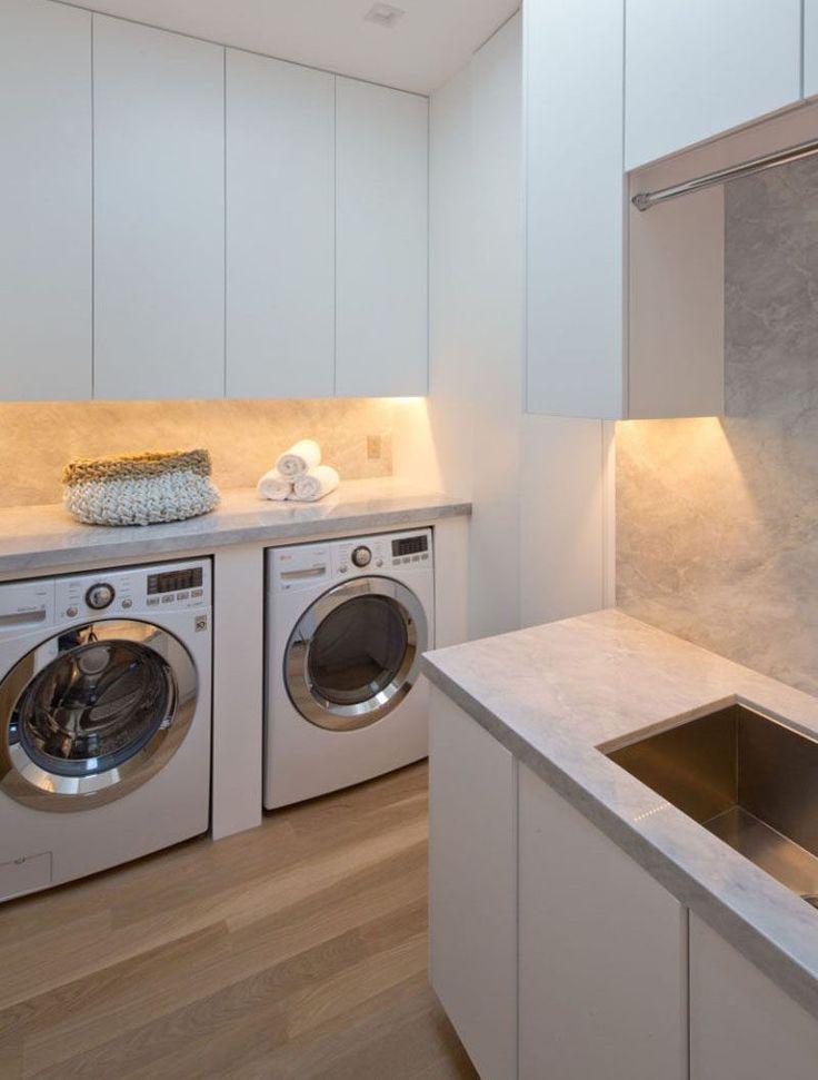 die besten 25+ waschmaschine und trockner ideen auf pinterest - Waschmaschine In Küche Integrieren