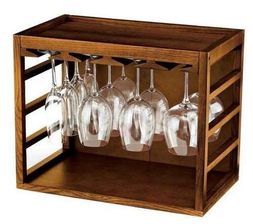 cubo de rejilla para copas de vino