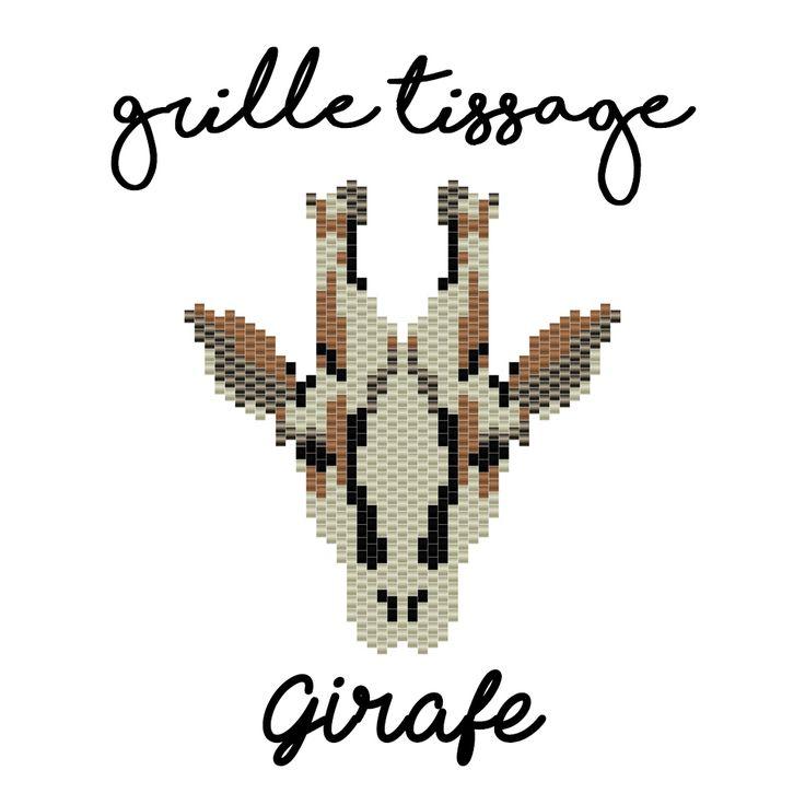 Grille miyuki pour tissage peyote réalisé et offert par la boutique Arrow Workshop  www.arrow-workshop.com