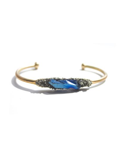 Nice looking bracelet, blue and gold, stone, stonework, jewelry, accessorize