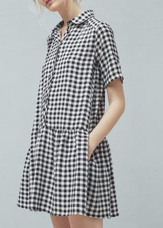 Flowy print dress - Women | MANGO USA