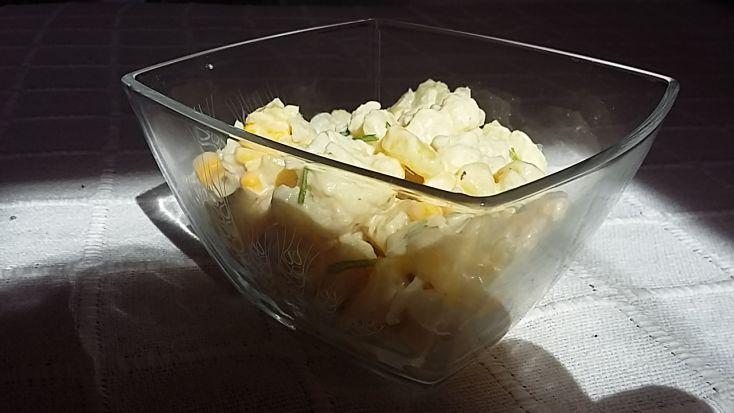 Karfiolovo-zemiakový šalát