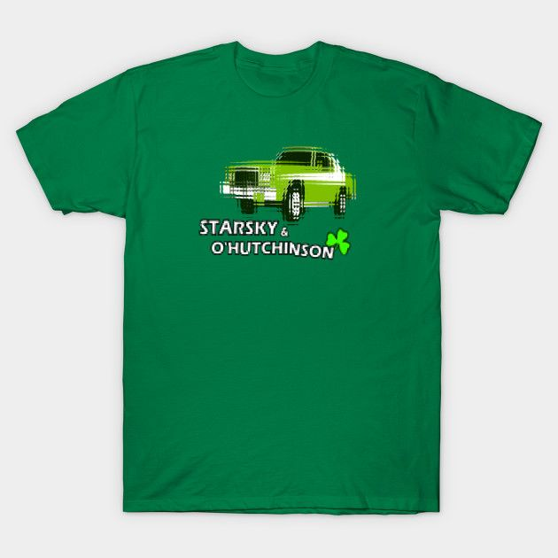 'Starsky & O'Hutchinson' -Tee shirt for St.Paddy's Day! #retro #drunk #cars #detectives #1970s #greenery #starskyandhutch #tshirts #irish #ireland #irishamerican #usa #copshows #cooltees #specialoffer #discount #tvseries #movies #davidsoul #huggybear #apparel #fashion #geek #nerd
