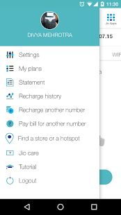 MyJio- screenshot thumbnail