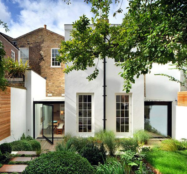 Old house, #modern #extension.