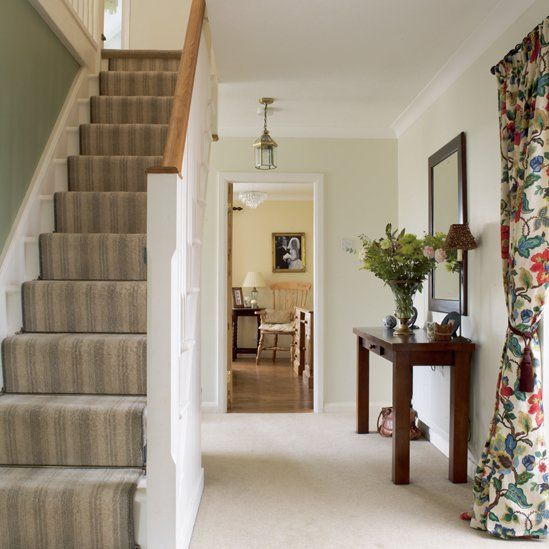 Hallway Stairs Decorating Ideas .