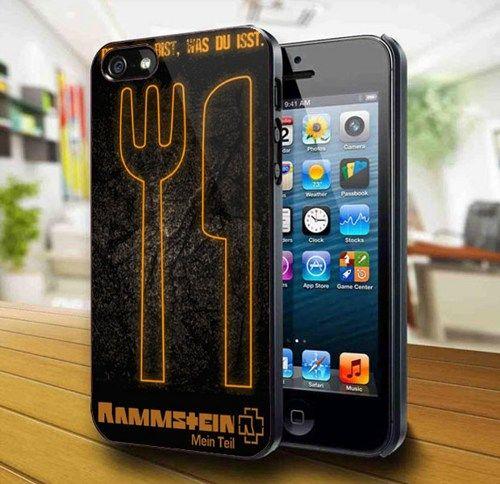 Rammstein Denn Du Bist Was Du Isst iPhone 5 Case   kogadvertising - Accessories on ArtFire