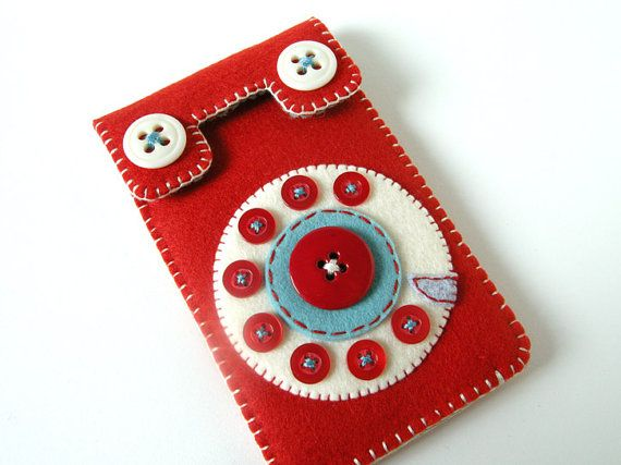 Japan Relief: Phone iPhone case No.58 (red/smoky turquoise)