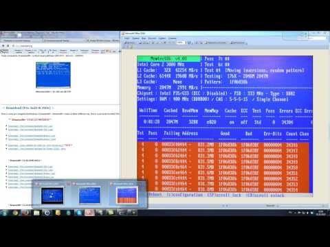 Проверяем оперативную память компьютера на наличие неисправности