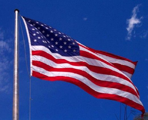 pictures of american flag   American Flag