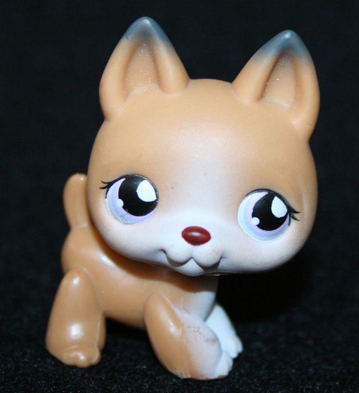 Littlest Pet Shop DOG - GERMAN SHEPHERD #112 LPS #Hasbro ...