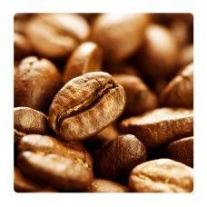 Kávé, kávészemek falikép