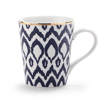 Ikat Coffee Mug | Barware & Entertaining | Home & Gift | Categories | C. Wonder