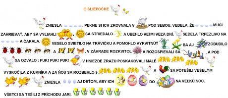 Abeceda slniečok - Fotoalbum - MAĽOVANÉ ČÍTANIE - Maľované čítanie k témam - 03.O sliepočke...od Daniely.jpg
