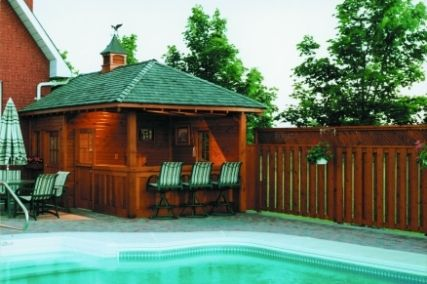 Pool House Plans :: Custom DIY Pool Cabana Construction Plans :: Summerwood Products