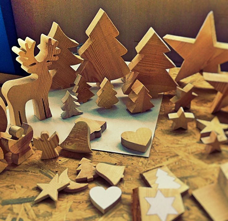Kolejne wzory dekoracji bożonarodzeniowych.