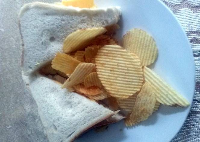 Simba Chips Sandwich Recipe -  I think Simba Chips Sandwich is a good dish to try in your home.