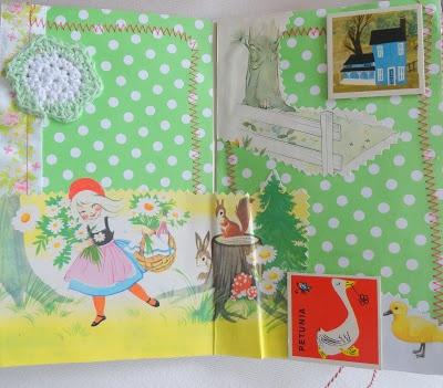 """""""allemaal kleurtjes mijn verzameling pastel servies Petrus Regout en smashbook avontuur.: rommelmarkt en round robin notebook"""