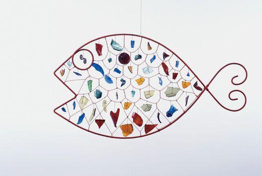 Alexander Calder, GLASS FISH, 1955