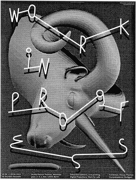 German designer Mark Bohle certainly has a knack for poster design, boasting a portfolio of work that showcases skilfully drawn typography and illustration that manages to be at once wonderfully weird and very concise.